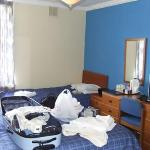 Our room - forgive the mess