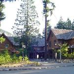 National Park Inn (Trust me the Mountain is Right behind the Lodge)