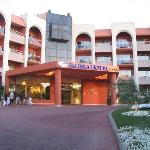 Entance to hotel