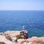 Naxos Town on the Portara peninsula