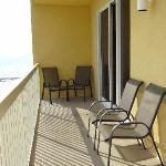 balcony is width of unit