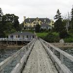 The Main Inn viewed from the dock