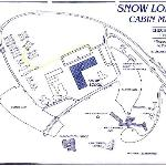 map of OF Snow Lodge and Cabins