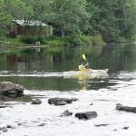 Kayaking on the York River