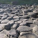 Giant's Causeway without crowds