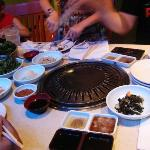 the various side dishes that come with BBQ