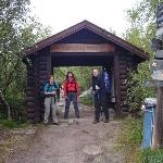 Starting the hike from Abisko