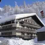 Chalet style hotel