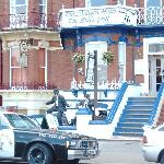family run guest house and blues brothers theamed restaurant