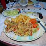 meal at Bayview's restaurant