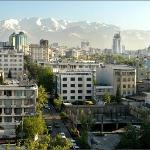 Northern Tehran, as seen from the 9th floor og Grand