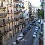 view from room, facing toward Montjuic
