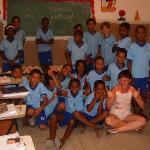 tropicanna trip, with the local school children