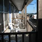 Porches, Anchor Motel, Narragansett, RI