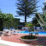 The pool at Hotel Villa Garden