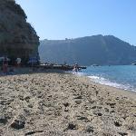 Beach near Forio
