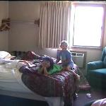 Part of our room (imaged from my camcorder)