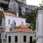 Plaka view towards Acropolis