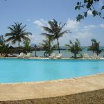 The pool at the back beach - Always fairly quiet and with good tray service from the Banyan Bar