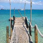 Island wharf