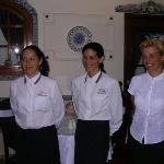 Staff at Casa Portuguesa