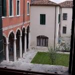 Courtyard view from room
