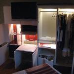 Wardrobe Storage Unit (open)