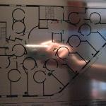 hotel floorplan, room 1 at top right, increment clockwise