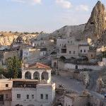 Göreme from the Kelebek