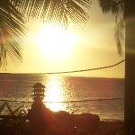 Sunset on Malolo