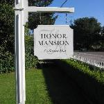 Honor Mansion Sign