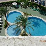 The three pools