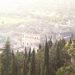 Gubbio, view over the city