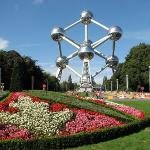 The recently renovated Atomium...bring your camera at night!