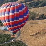 View of Balloon Landing