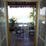 Patio from room