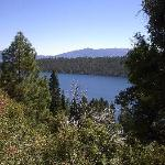 View of Emerald Bay - on the 1 mile walk down to the Castle