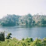 a beautiful lake in bandarban