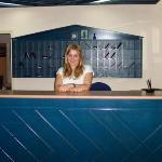 Julie in reception