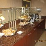 more of breakfast buffet