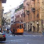 Via Nino Bixio, Street of the Hotel