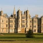 Burghley from park