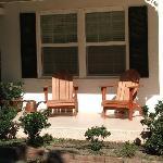Porch infront of Zinfandel Suite