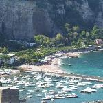 marina, beach, hotel