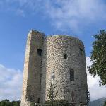 Bastille/Bastiglia tower part of the Castello di Arechi complex
