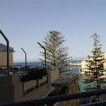Bay view from bar terrace