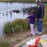 Fishing at Sylvan Lake