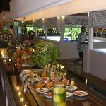 Club Med Kani. Excellent buffet spread.