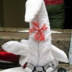 Towel Swan