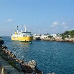 View on Ciutadella Promenade